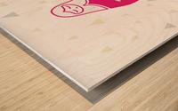 LA FEE DODO Wood print