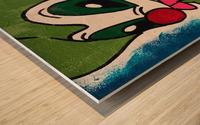 Elastico Wood print