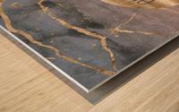 GRAPHIC ART Explore the world Wood print