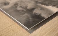 Winter Landscape V Wood print