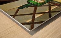 Pharmacie Wood print
