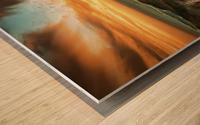 panorami Wood print