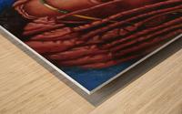 coquette Wood print