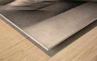 Roundism – 11-01-18  Wood print