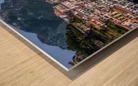 Artistic Amalfi Coast Landscape Wood print