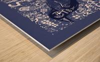 Type Is Mythic - Typography Art Print Wood print