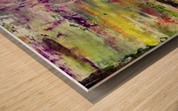 Celebation Wood print