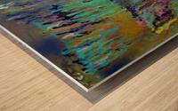 The Unseen World Wood print