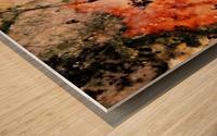 Marble edited Wood print