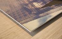One Way edited Wood print