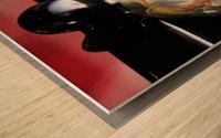 ReflectionInGlassF002 Wood print