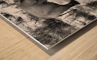 Elephant Youth Wood print