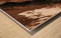 Sediment Wood print
