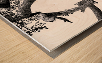 SPOTTED Wood print