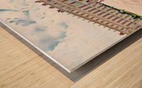 Versailles & Garden  Wood print