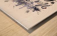 City-Art NYC Composing | Typography Wood print