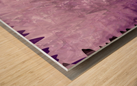 PurplePassion Wave Wood print