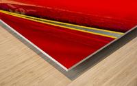 Angled Wood print