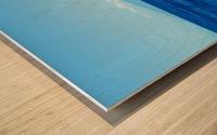 Bigger Blue Wood print
