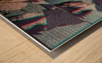Blur Wood print