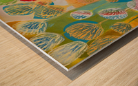 Seed Circle Wood print