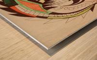 Warrior Wings Wood print