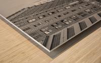 7th & Broadway DTLA - B&W Wood print