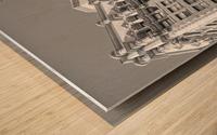 DTLA South Broadway & West 3rd - B&W Wood print