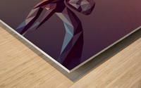 polycerf Wood print