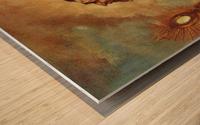 Heiliger in Verzuckung Wood print