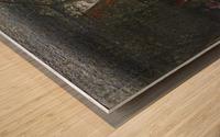 Wirtshausgarten Wood print