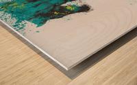 Running Wood print