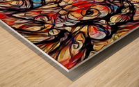 urinoco Wood print
