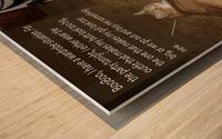 BooBoo&Goldie2 Wood print