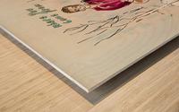Britton Buchanan - The Voice Wood print