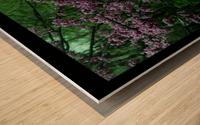 A (15) Wood print