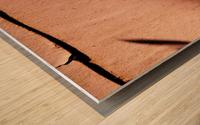 A (9) Wood print