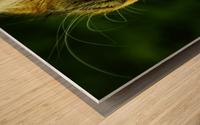 A (6) Wood print