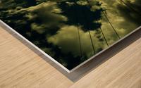 B (1) Wood print