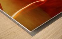 B (7) Wood print
