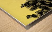 D (10) Wood print
