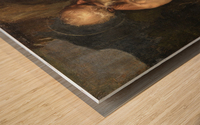 Saint Jerome meditating Wood print