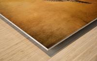 Female Ruffed Grouse Wood print