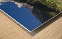 Lake of Tovel Wood print