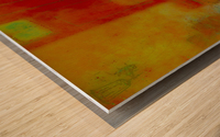 ARRIVALS Wood print