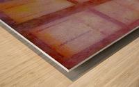 FADED VIEWS Wood print