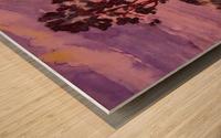 Evening Landscape 2 Wood print