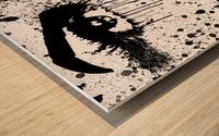 Abstract Girl Wood print
