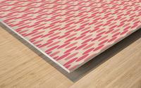 Pink Seamless Pattern Artwork Wood print