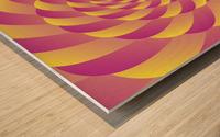 Lollipop Swirl Art Wood print